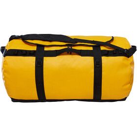 The North Face Base Camp Duffel XXL, currant summit gold/tnf black